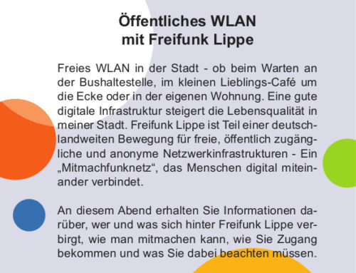 VHS Lemgo – Öffentliches WLAN mit Freifunk Lippe