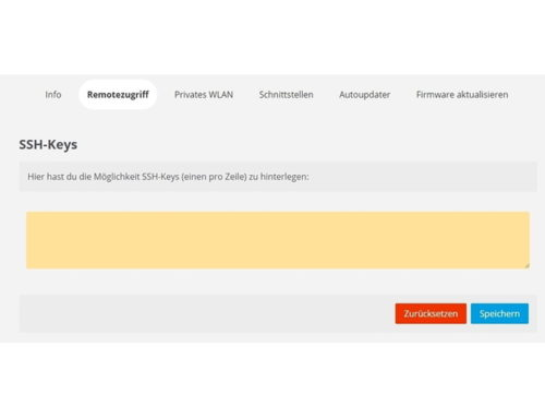 SSH-Key erstellen und einrichten