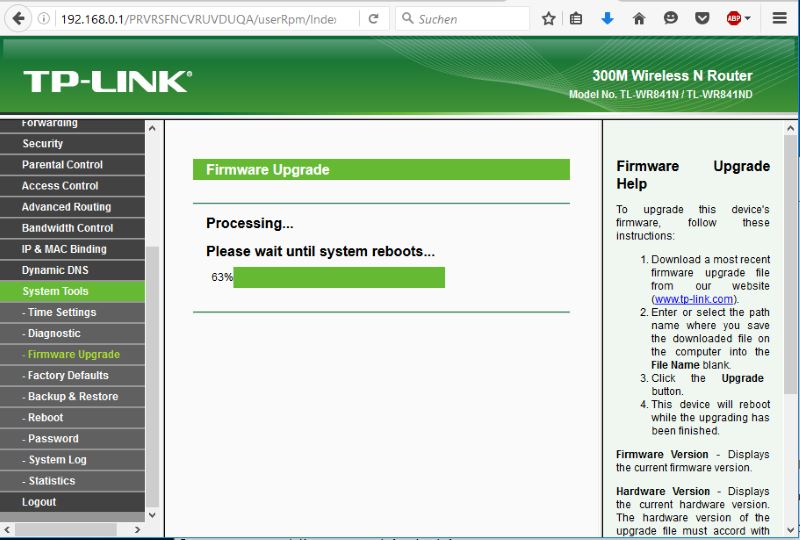 Firmware installieren