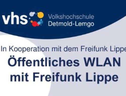 VHS Themenabend – Öffentliches WLAN mit Freifunk Lippe
